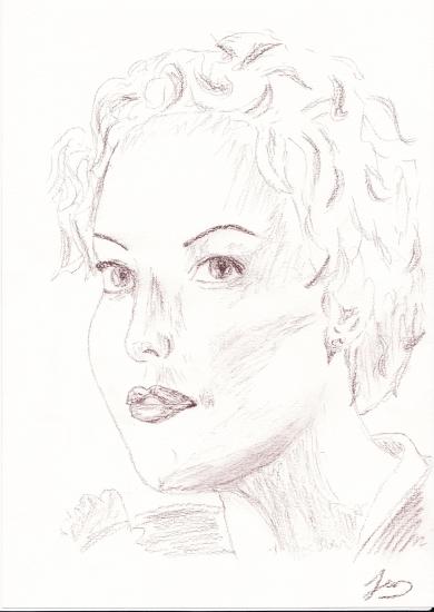 Charlize Theron par Jenn